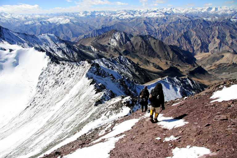 Stok Kangri Trek – A Riveting trek with an epic climax