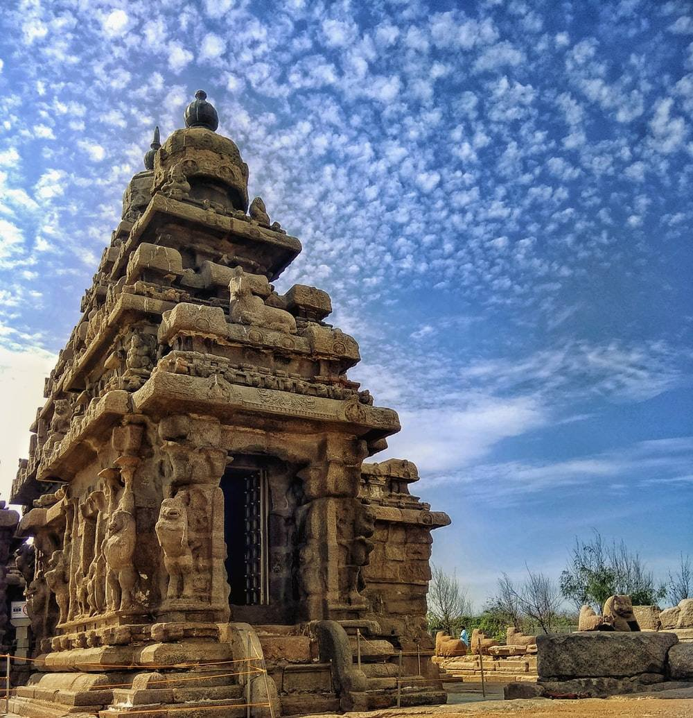 Shore Temple at Mahabalipuram - stunning poetry in stone