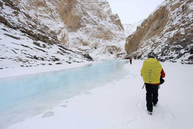 Frozen and loving it - Ladakh in winters
