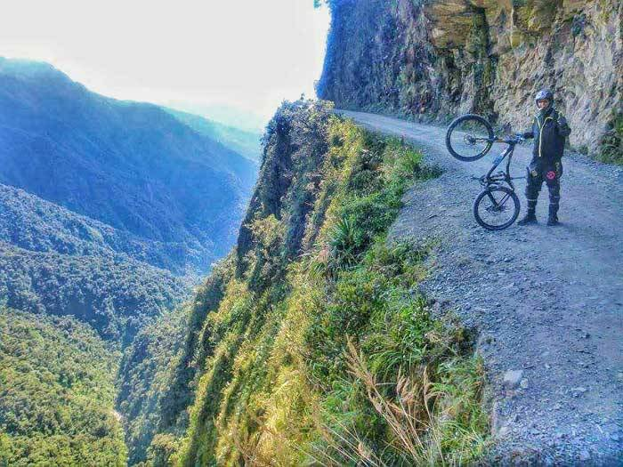 Cycling Bolivia's Death Road: The World's Most Dangerous Bike Ride