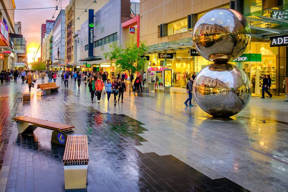 Awesome places for shopping in Australia