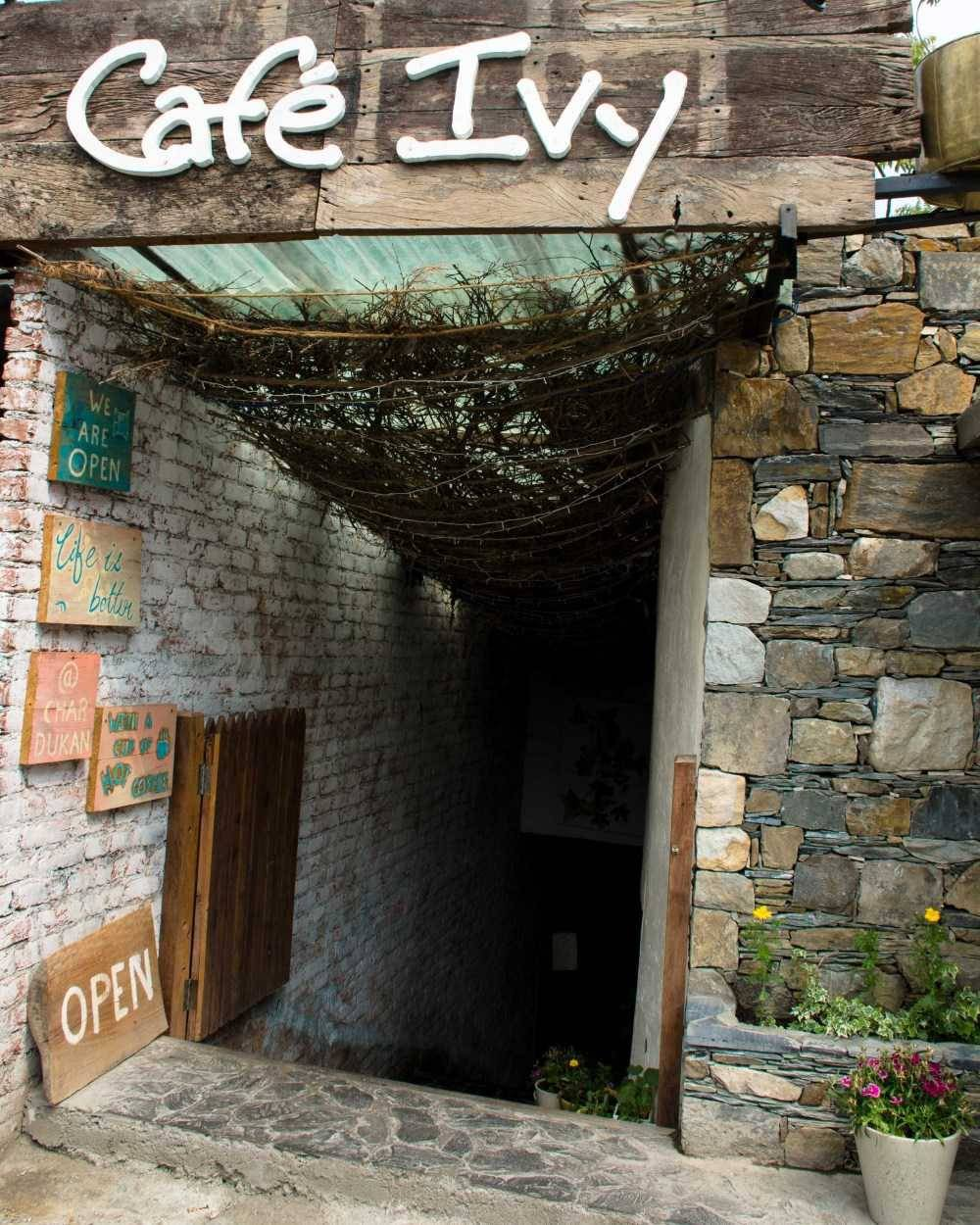 Cafe Ivy in Mussoorie