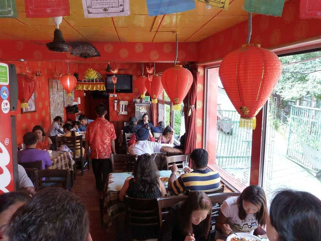 Kalsang Cafe in Mussoorie
