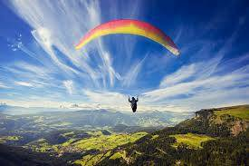Paragliding and camping in Bir Billing